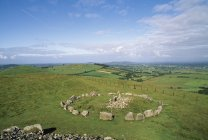 Stone Circle In A Country Field — Stock Photo