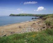 Spiaggia a Trabeg l'Irlanda — Foto stock