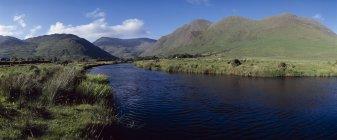 Delphi долини, гори Mweelrea — стокове фото