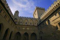 Palais pontifical d'Avignon — Photo de stock