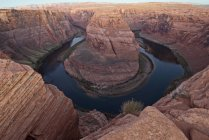Big Bend Of Colorado River Near Page — Stock Photo