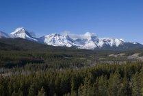 Kananaskis, alberta, canada; Gebirgszug — Stockfoto