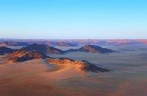 Піщані дюни в Namib-Naukluft-парк — стокове фото