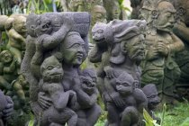 Balinese Statues during daytime — Stock Photo