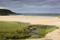 Sandy Beach, Schottland — Stockfoto