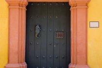 Door In Old Walled City — Stock Photo