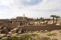 Храми в Карнаке в Єгипті — стокове фото