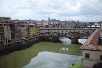 Vasari Corridor in Florence — Stock Photo