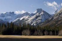 Schneebedeckte Gebirge — Stockfoto