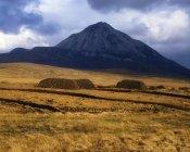 Ansicht der Errigal Mountain — Stockfoto