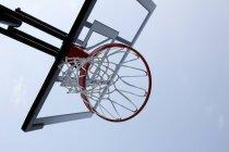 Ansicht der Basketballkorb — Stockfoto
