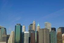 Манхеттен, Нью-Йорк — стокове фото