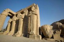 Ramesseum palazzo in rovina — Foto stock