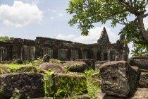 Tempio di Nandi, IVA Phou tempio complesso; Champasak, Laos — Foto stock