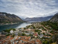 View from Kotor Fortress; Kotor, Montenegro — Stock Photo