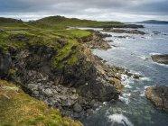 Vue panoramique sur l'île d'Achill, Achill Sound, Wild Atlantic Way, comté de Mayo, Irlande — Photo de stock