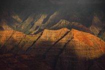 Waimea Canyon au coucher du soleil, Kauai, Hawaï, États-Unis d'Amérique — Photo de stock