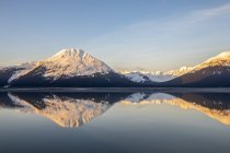 Turnagain Arm, South of Anchorage, Alaska in the morning, Alaska, United States of America — Stock Photo