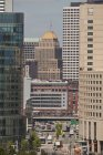 Мальовничий вид на міський пейзаж Бостон, Саффолк, Массачусетс, США — стокове фото