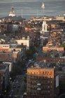 Мальовничий вид на красиве міське місто Бостон, Саффолку, штат Массачусетс, США — стокове фото