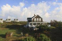 Case vacanza a Block Island, Rhode Island, Stati Uniti d'America — Foto stock