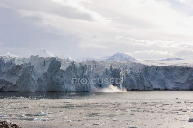 Vue des icebergs en Antarctique — Photo de stock