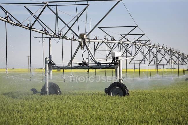 Large irrigation system — Stock Photo