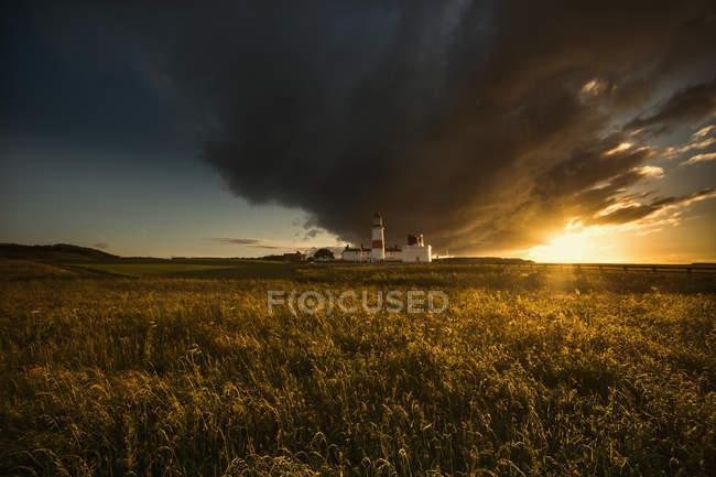 Dark cloud formation — Stock Photo