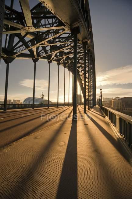 Pont, Newcastle Upon Tyne — Photo de stock