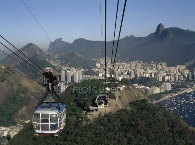 Gondola Lift, Rio De Janeiro — Stock Photo