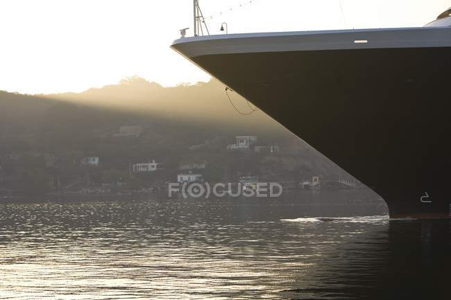 Cruise Ship over water — Stock Photo