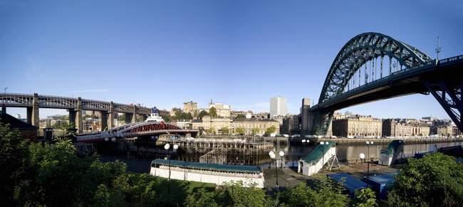 Newcastle Upon Tyne citycscape — Photo de stock