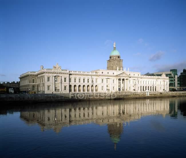 Custom House in Dublin — Stock Photo