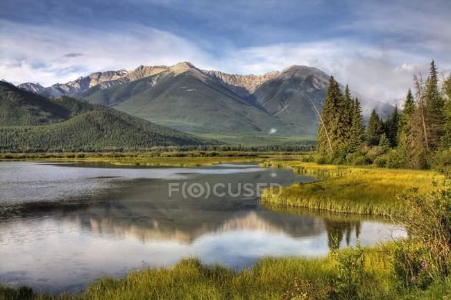Національний парк Банф, Альберта — стокове фото