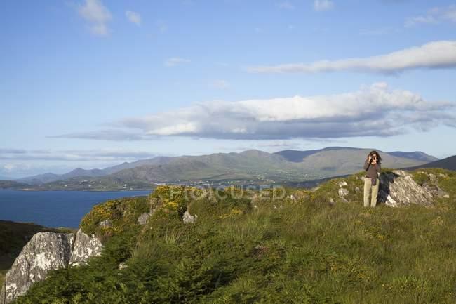 Vista di montagna in Irlanda — Foto stock