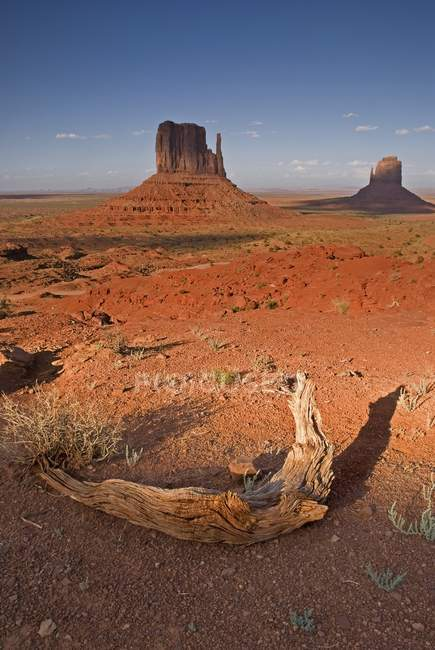 Долина монументів, Kayenta — стокове фото