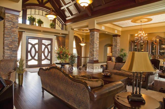 Interior Of Luxurious Home — Stock Photo