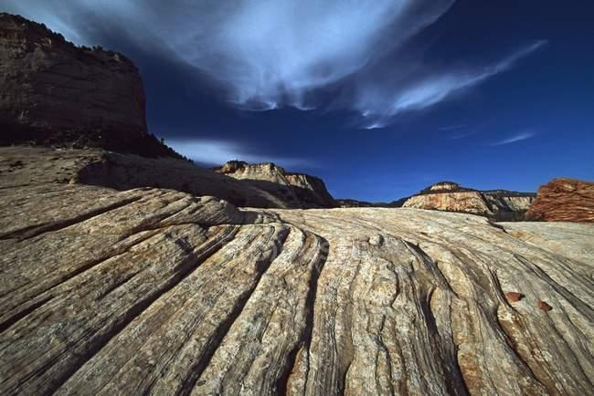 Linee In Arenaria Dune di Sabbia — Foto stock