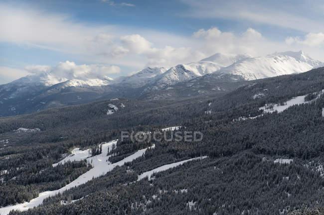 Paysage des montagnes Rocheuses — Photo de stock