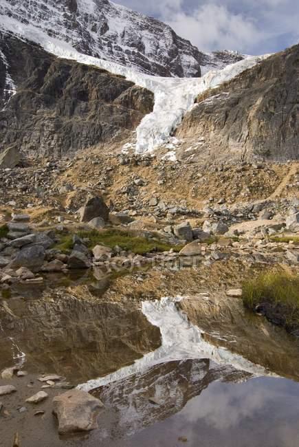 Ангел льодовик денний час — стокове фото