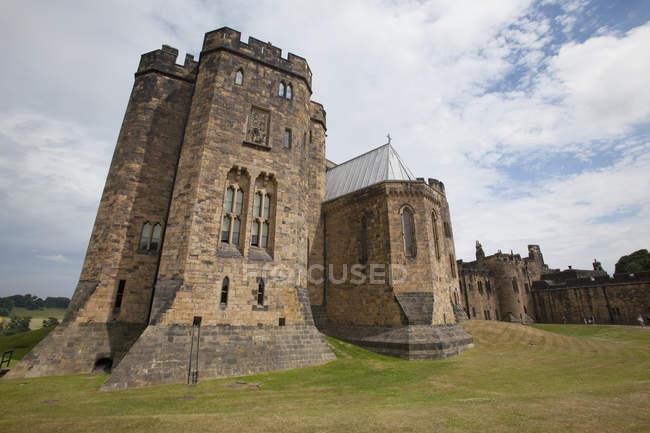 O Castelo de Alnwick — Fotografia de Stock