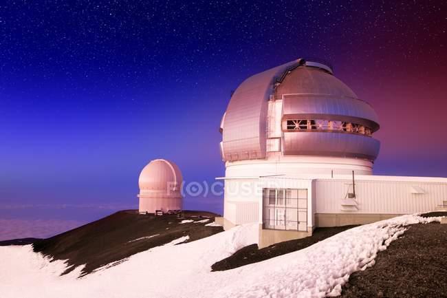 Edifício de cúpula na montanha — Fotografia de Stock