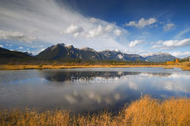 Athabasca River, Moberly Flats — Stock Photo