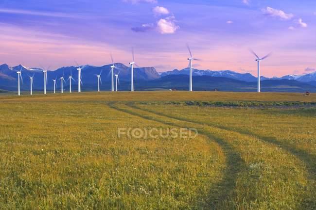 Générateurs d'énergie de remplacement — Photo de stock