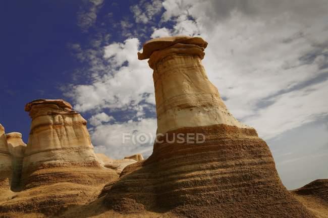 Formazioni naturali sulle rocce — Foto stock