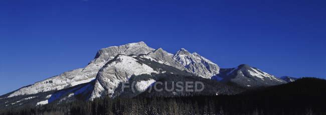 Panorama Of Rocky Mountain — Stock Photo