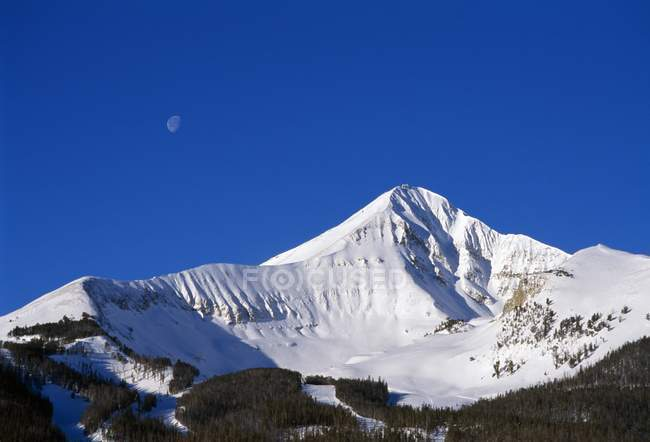 Vista Lone Peak — Foto stock