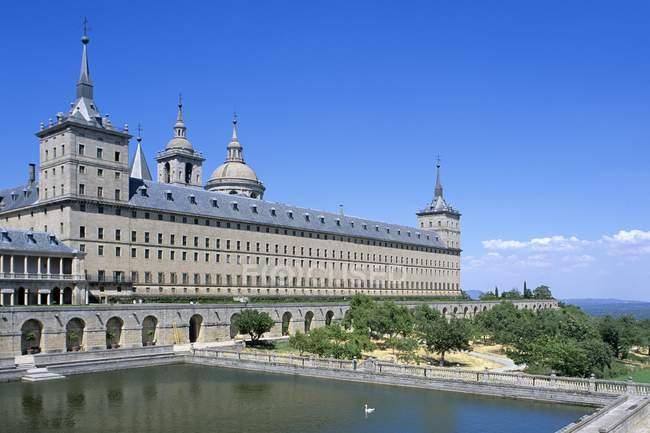 San Lorenzo De El Escorial Palace - foto de stock