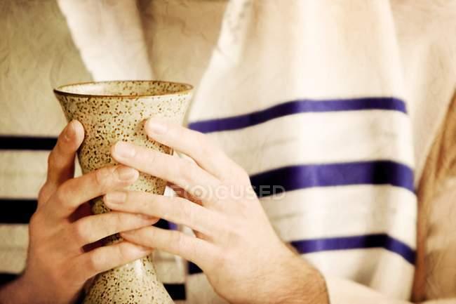 Причастя ритуал і Кубок — стокове фото