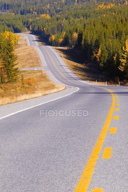 Kananaskis Highway In Alberta — Stock Photo